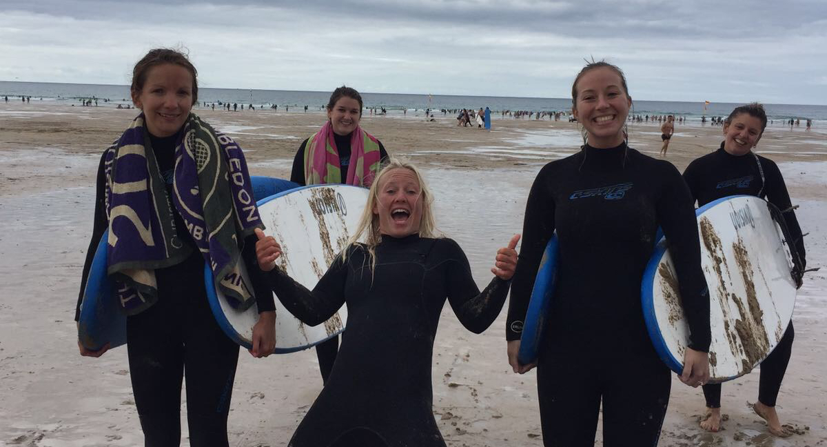 Group Surf Lesson Newquay